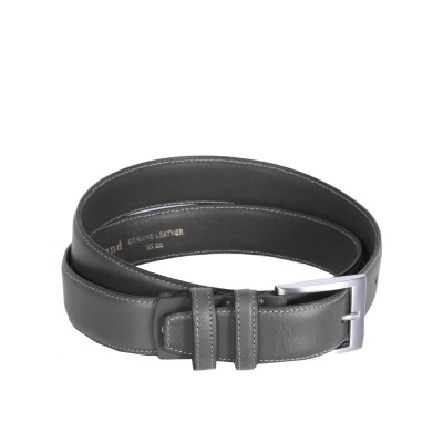Leather Belt Elliot Grey