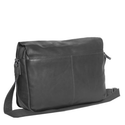 Photo of Leather Laptop T2 Bag Black Thomas Hayo