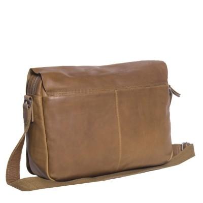 Photo of Leather Shoulder Bag T2 Cognac Thomas Hayo