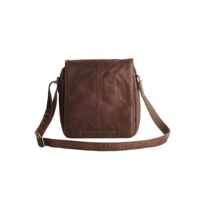 Leather Shoulder Bag Brown Bowie