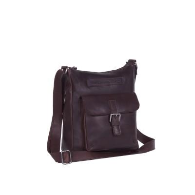 Leather Shoulder Bag Brown Susan