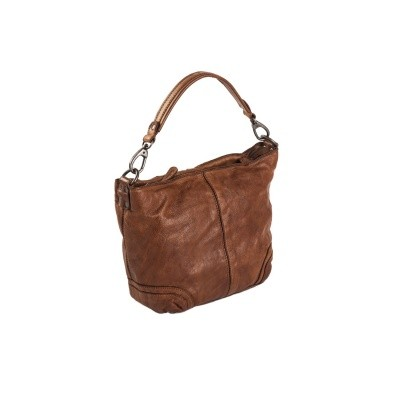 Photo of Leather Shoulder Bag Cognac Lisa