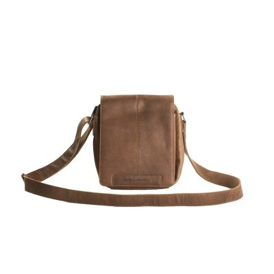 Leather Shoulder Bag Cognac Alin
