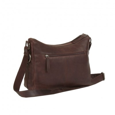 Photo of Leather Shoulder Bag Brown Tessa