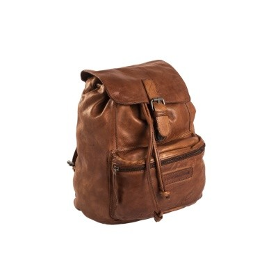 Photo of Leather Backpack Cognac Jace