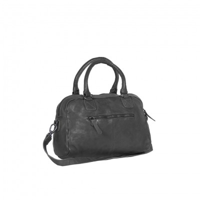 Photo of Leather Shoulder Bag Anthracite Alice