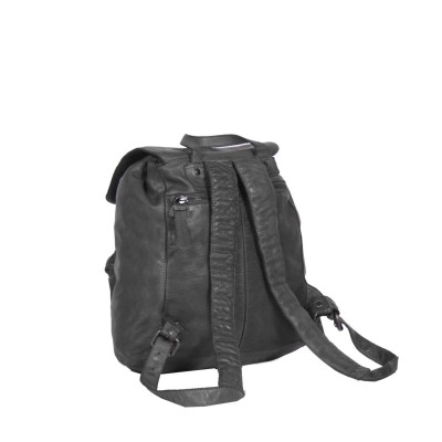 Photo of Leather Backpack Anthracite Rose