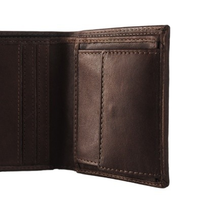Photo of Leather Wallet Brown Anas