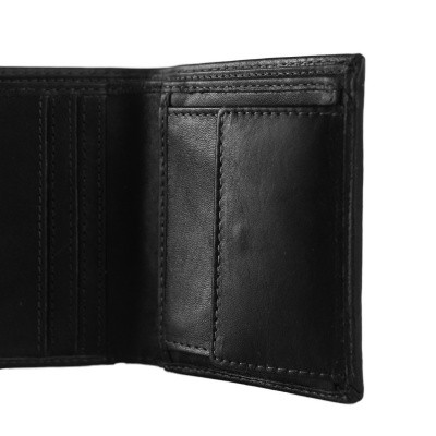 Photo of Leather Wallet Black Anas