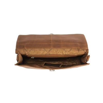 Photo of Leather Briefcase Cognac Bren
