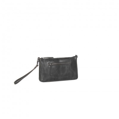Photo of Leather Clutch Black Verena