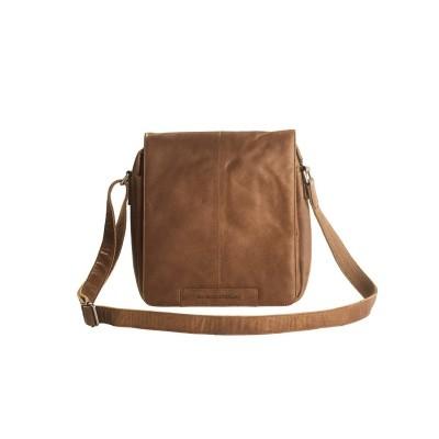 Leather Shoulder Bag Cognac Bowie