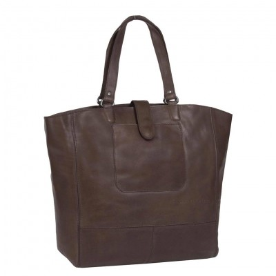 Photo of Leather Shopper Brown Jaimy