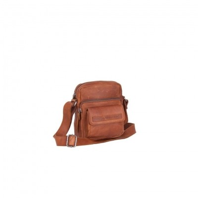 Leather Shoulder Bag Cognac Anna