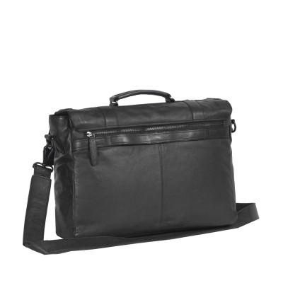 Photo of Leather Shoulder Bag Black Label Anthracite Larah