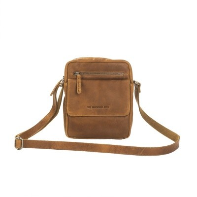 Photo of Leather Shoulder Bag Cognac Blair
