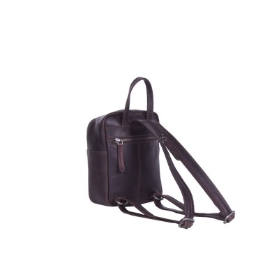 Photo of Leather Backpack Brown Christina