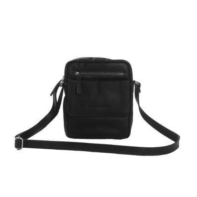 Photo of Leather Shoulder Bag Black Blair