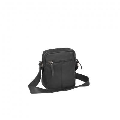 Photo of Leather Shoulder Bag Black Anna