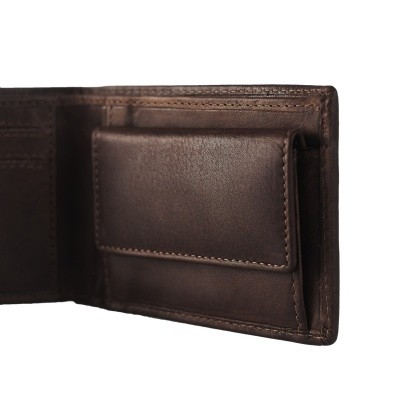 Photo of Leather Wallet Brown Enzo