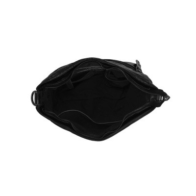 Photo of Leather Shoulder Bag Black Lisa
