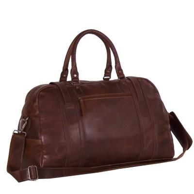 Photo of Leather Travelbag Dark Cognac Avan