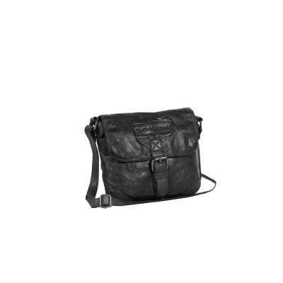 Photo of Leather Shoulder Bag Black Cato