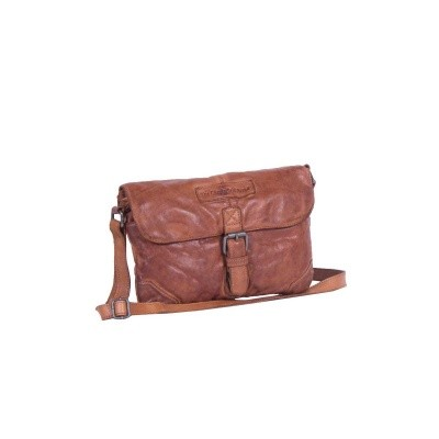 Photo of Leather Shoulder Bag Cognac Liv