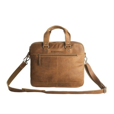 Photo of Leather Laptop Bag Cognac Jovi