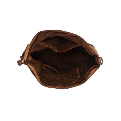 Photo of Leather Shoulder Bag Cognac Abby