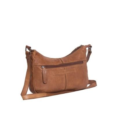 Photo of Leather Shoulder Bag Cognac Aria