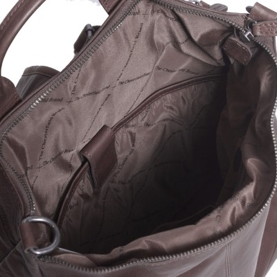 Photo of Leather Backpack Brown Nuri