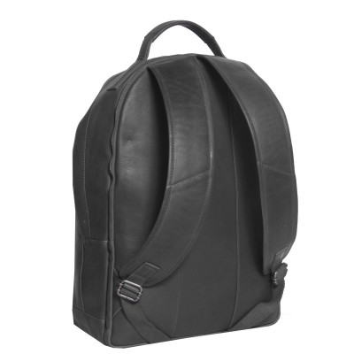 Photo of Leather Backpack T5 Black Thomas Hayo