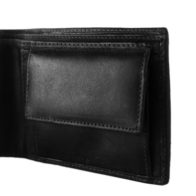 Photo of Leather Wallet Black Walid