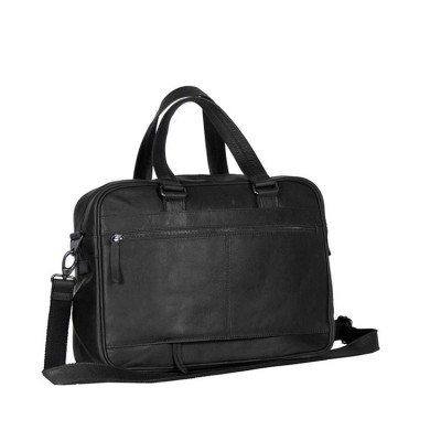 Photo of Leather Laptop Bag Black Samual