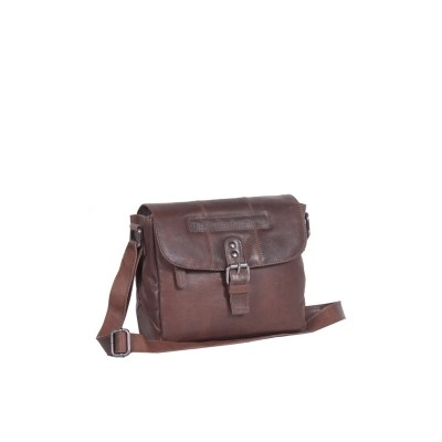 Leather Shoulderbag Brown Maddy