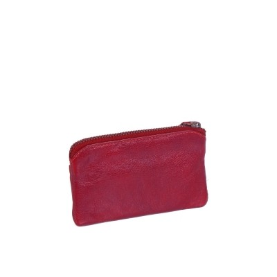 Photo of Leather Wallet Red David
