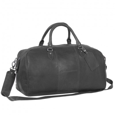 Photo of Leather Weekend Bag Black William