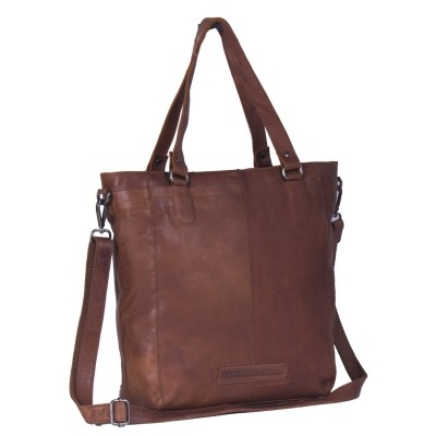 Photo of Leather Tote Bag Cognac Jade
