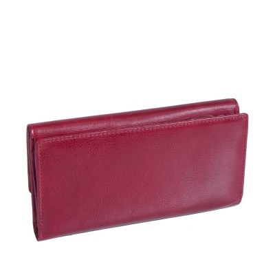 Photo of Leather Wallet Red Thea