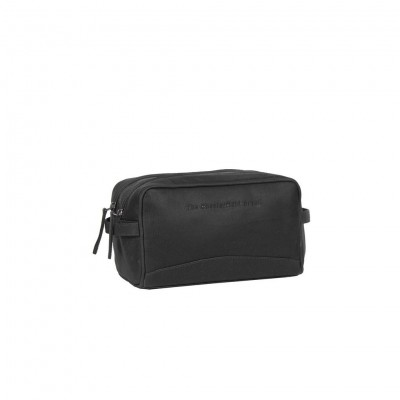 Photo of Leather Toiletry Bag Black Stacey