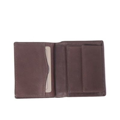 Photo of Leather Wallet Brown Hereford