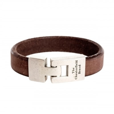 Photo of Leather Bracelet Brown Marco