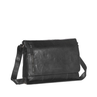 Leather Shoulder Bag Black Maha