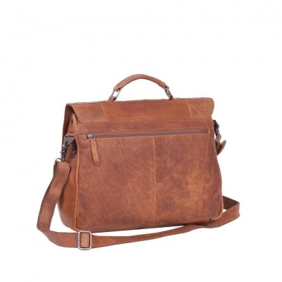 Photo of Leather Briefcase Cognac Matthew