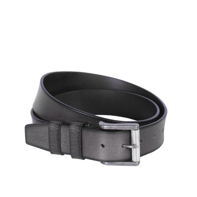 Leather Belt Aayden Anthracite