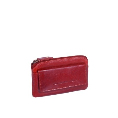 Leather Wallet Red David