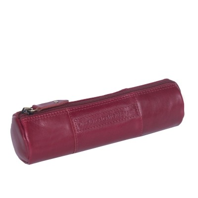 Leather Pen Case Red Don