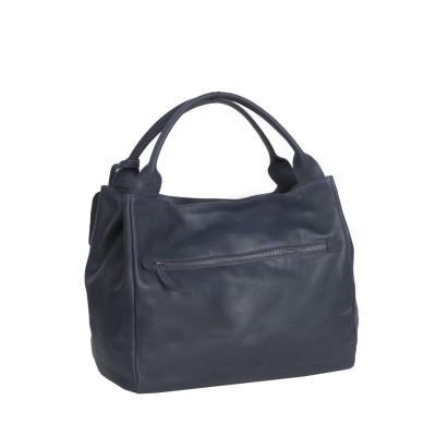 Photo of Leather Handbag Navy Cardiff