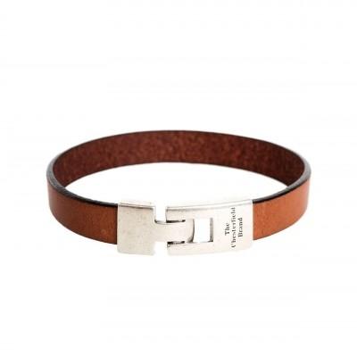 Photo of Leather Bracelet Cognac Granada